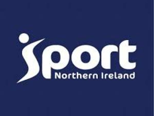 Sport northern Ireland logo blue
