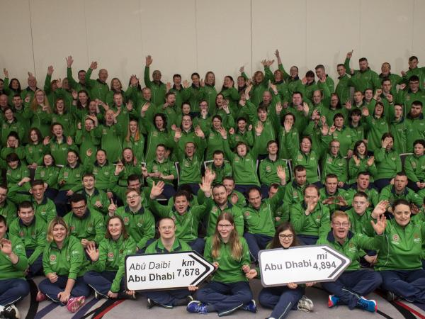 Team Ireland of 91 athletes who will compete at the 2019 World Summer Games in Abu Dhabi