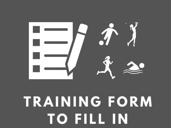 Training Form