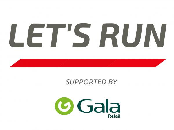 Lets Run supported by Gala Retail