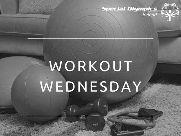 Workout Wednesday bllack and white