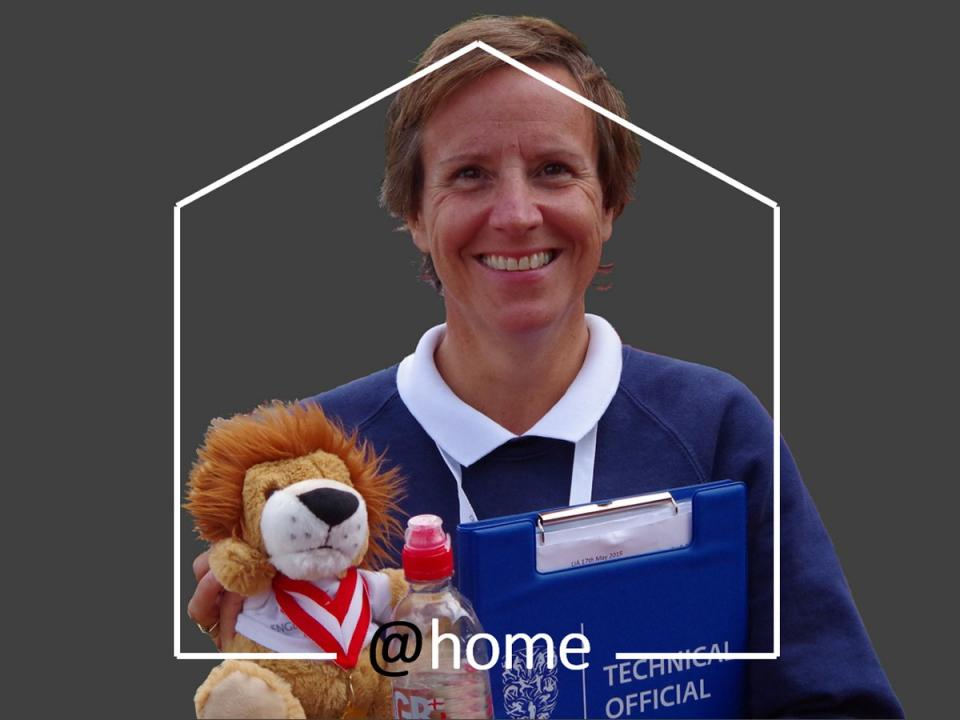 Athletics England- officiating at home