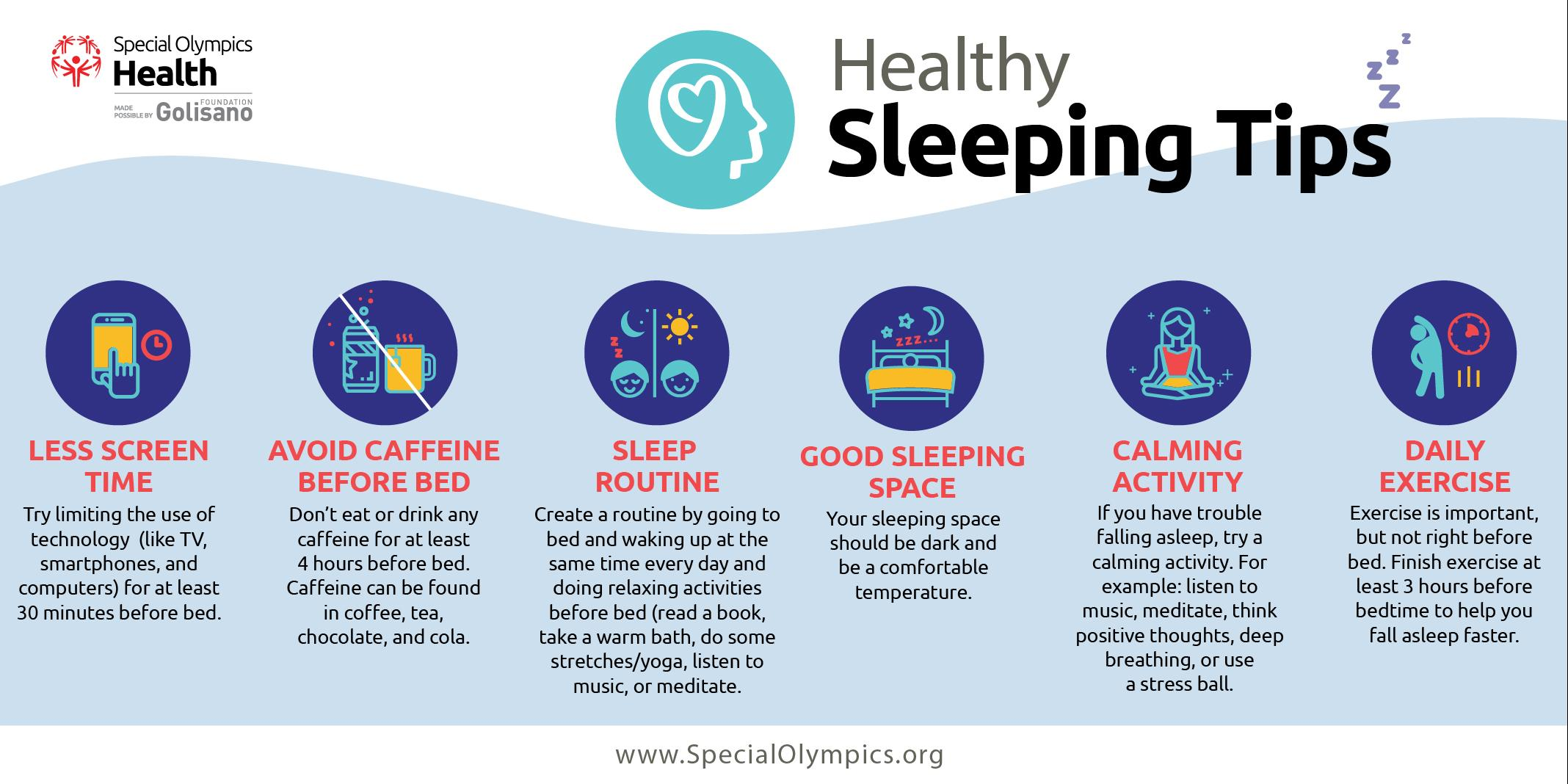 Strong Minds sleeping tips