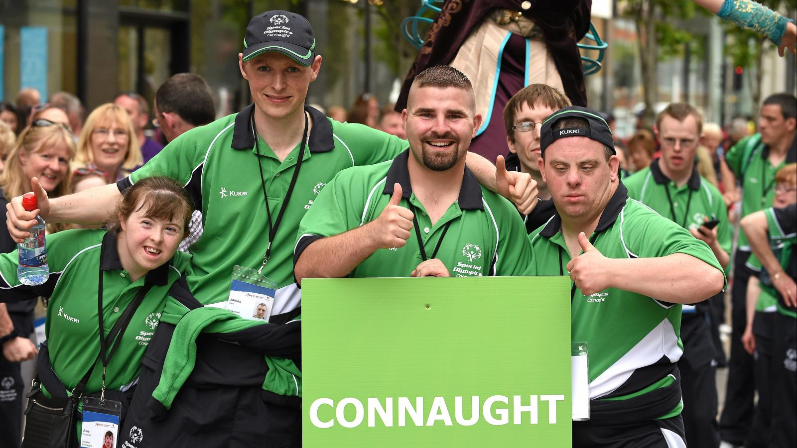 Connaught team at Ireland games