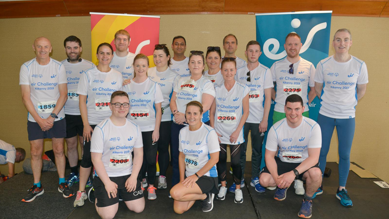 The annual eir Staff Challenge supports Special Olympics Ireland's future champions