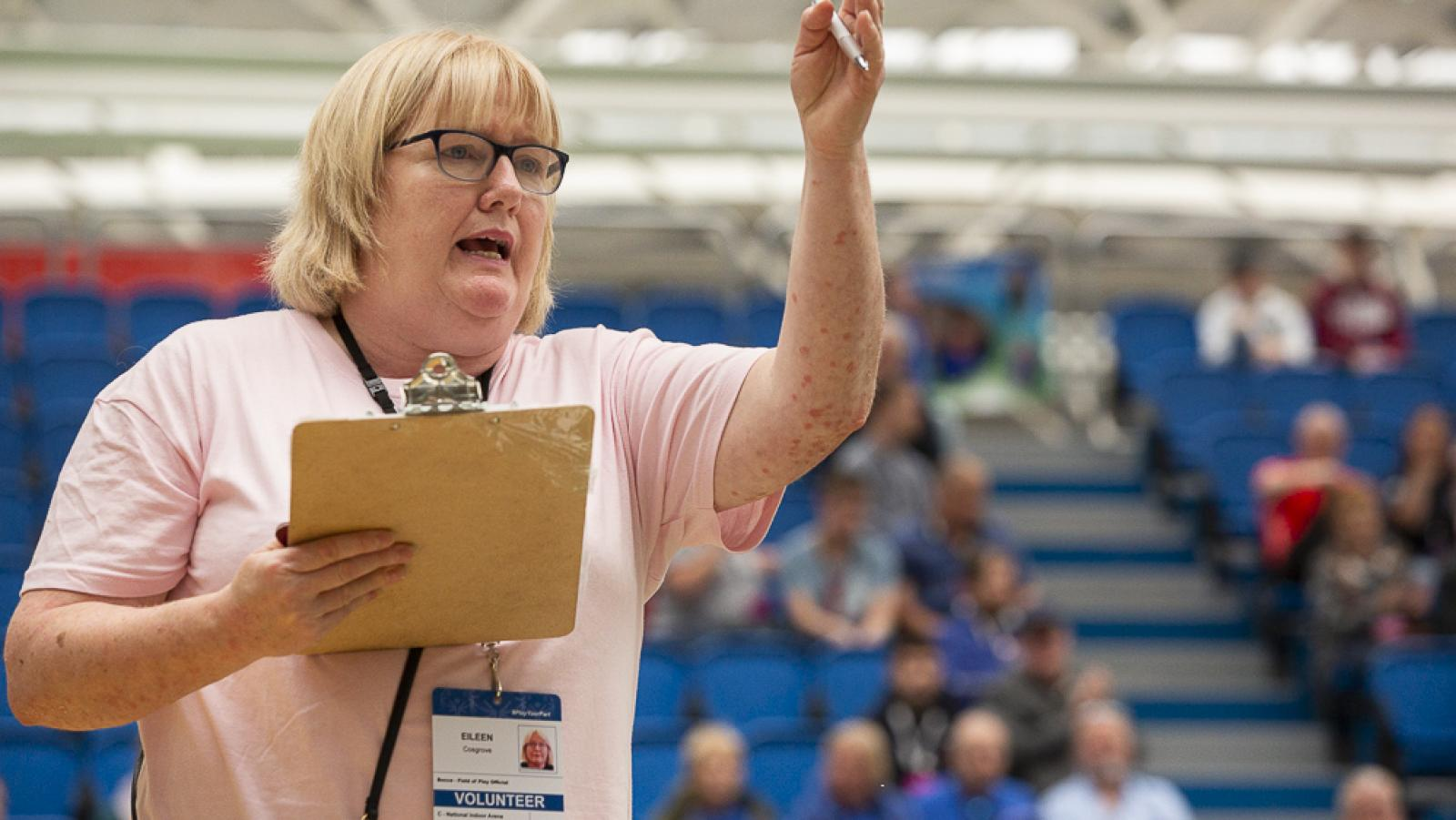Volunteer in Administration with Special Olympics