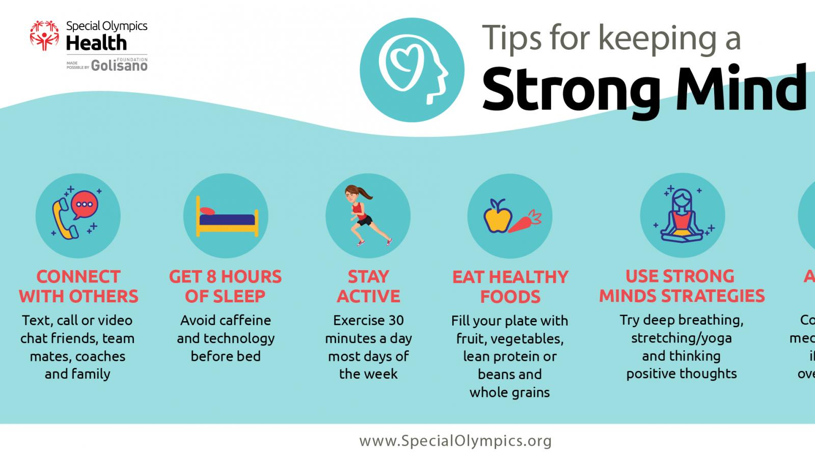 Tips for keeping Strong Minds